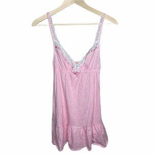 Victoria's Secret Womens Babydoll Chemise Pink XS